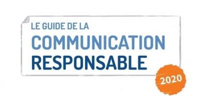 Logo du guide de la communication responsable de l'ADEME